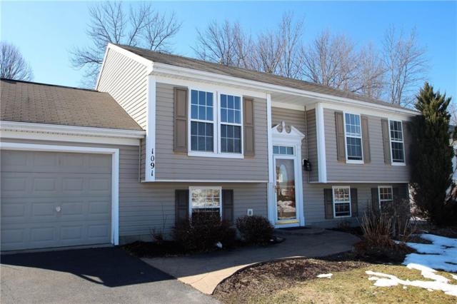 1091 Fawn Wood Drive, Webster, NY 14580 (MLS #R1110290) :: Robert PiazzaPalotto Sold Team