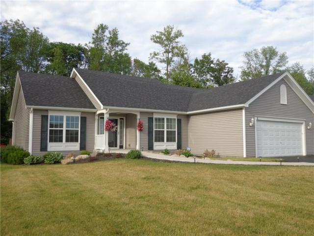 8 Blue Mountain Drive, Parma, NY 14468 (MLS #R1127917) :: Robert PiazzaPalotto Sold Team