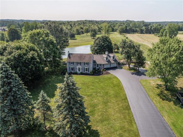 640 Boughton Hill Road, Mendon, NY 14472 (MLS #R1139446) :: Robert PiazzaPalotto Sold Team