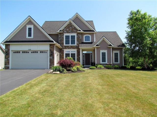 1394 Meadow Breeze Lane, Webster, NY 14580 (MLS #R1154845) :: Robert PiazzaPalotto Sold Team