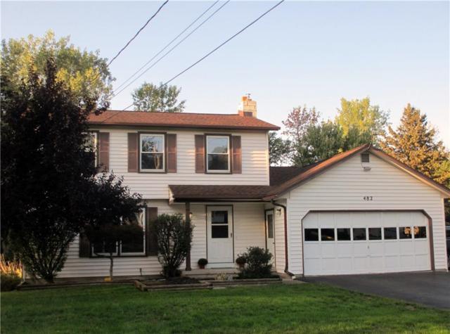 482 Parma Center Road, Parma, NY 14468 (MLS #R1157894) :: BridgeView Real Estate Services