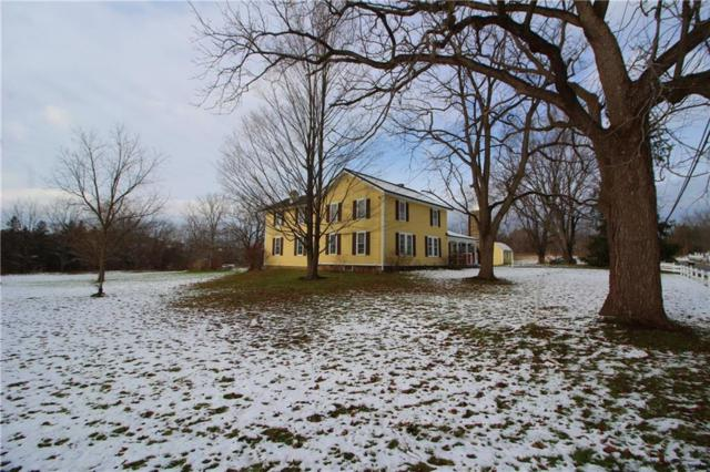1275 W Bloomfield Road, Mendon, NY 14472 (MLS #R1163454) :: Robert PiazzaPalotto Sold Team