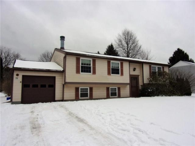 77 Wildherd Drive, Henrietta, NY 14467 (MLS #R1174160) :: Robert PiazzaPalotto Sold Team