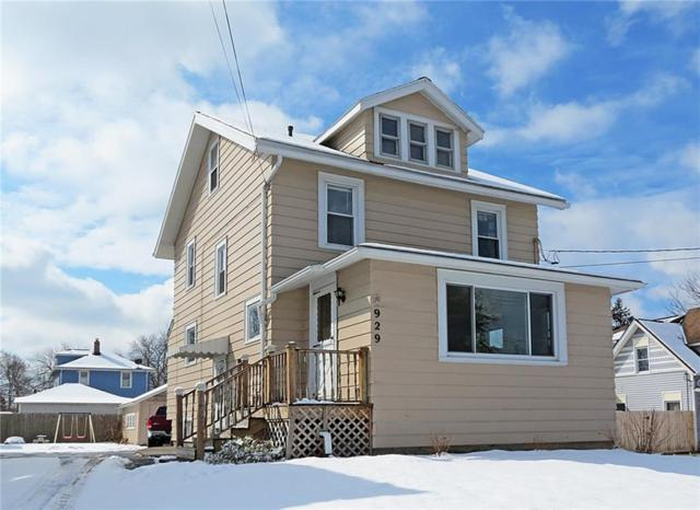 929 Whitney Road W, Perinton, NY 14450 (MLS #R1179372) :: Robert PiazzaPalotto Sold Team