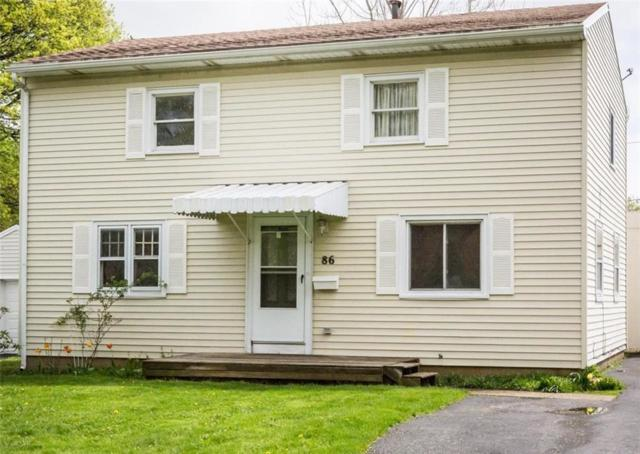 86 Greenfield Road, Greece, NY 14626 (MLS #R1196087) :: Robert PiazzaPalotto Sold Team
