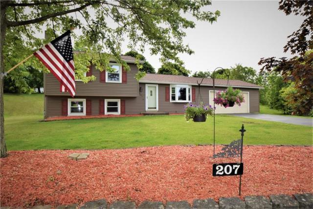 207 Briarwood Lane, Wheatland, NY 14546 (MLS #R1203299) :: Robert PiazzaPalotto Sold Team