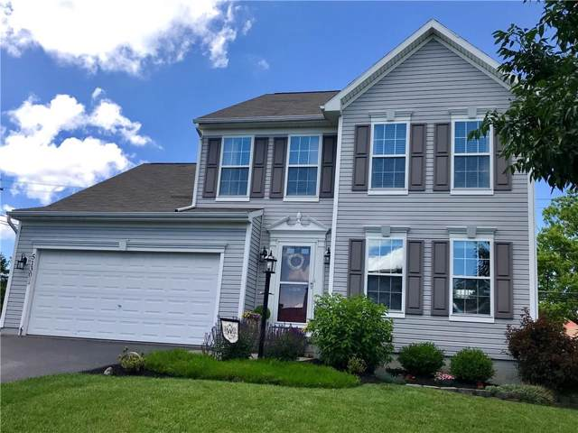 5130 Overlook Lane, Canandaigua-Town, NY 14424 (MLS #R1204716) :: Robert PiazzaPalotto Sold Team