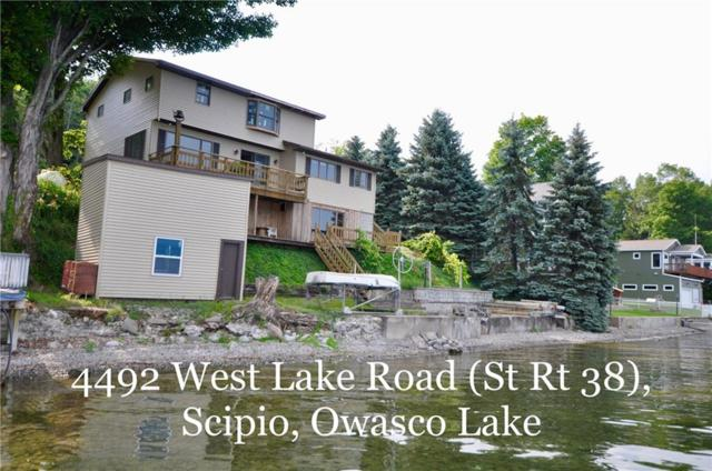 4492 West Lake Rd (State Route 38) Road, Scipio, NY 13021 (MLS #R1213866) :: 716 Realty Group