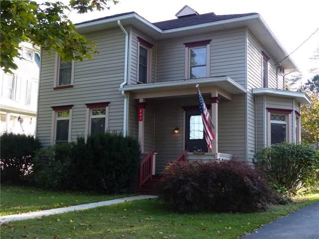 247 E Main St, Milo, NY 14527 (MLS #R1230840) :: Robert PiazzaPalotto Sold Team