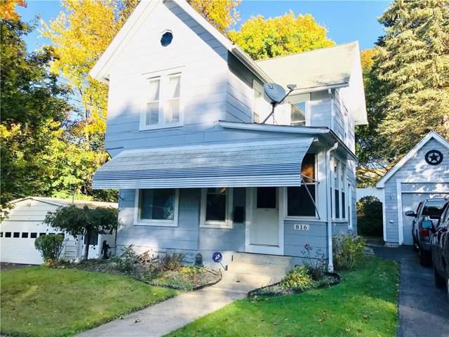 816 Lafayette Street, Jamestown, NY 14701 (MLS #R1234608) :: BridgeView Real Estate Services