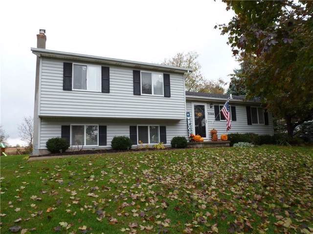 3266 Bronson Hill Road, Livonia, NY 14487 (MLS #R1235037) :: BridgeView Real Estate Services