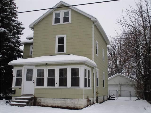 44 Rosemount Street, Rochester, NY 14620 (MLS #R1241417) :: Updegraff Group