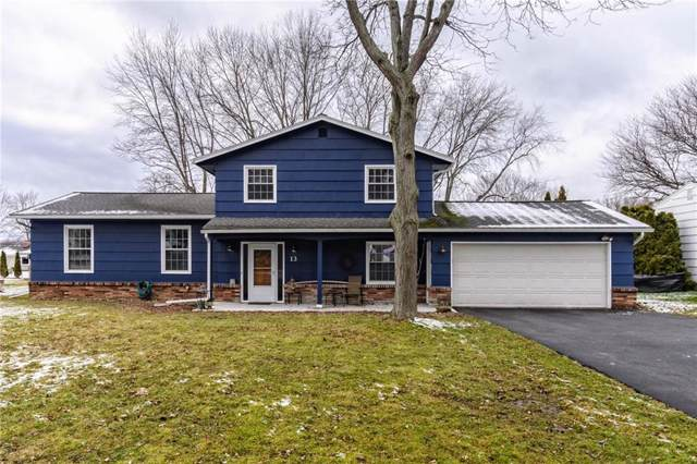 13 Cross Bow Drive, Chili, NY 14624 (MLS #R1244659) :: The CJ Lore Team | RE/MAX Hometown Choice