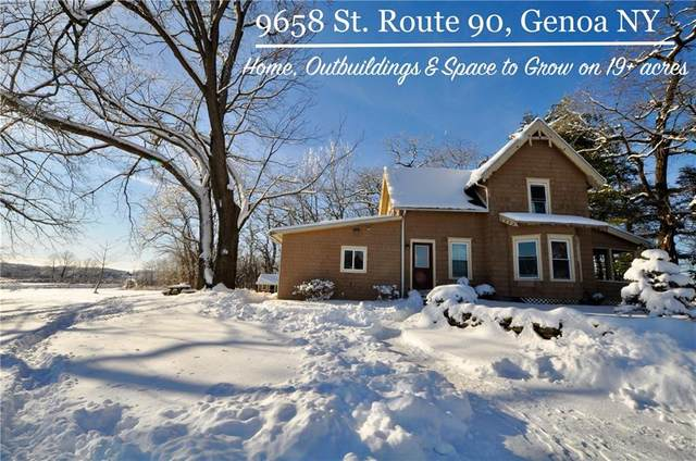 9658 State Route 90, Genoa, NY 13071 (MLS #R1248452) :: The CJ Lore Team | RE/MAX Hometown Choice