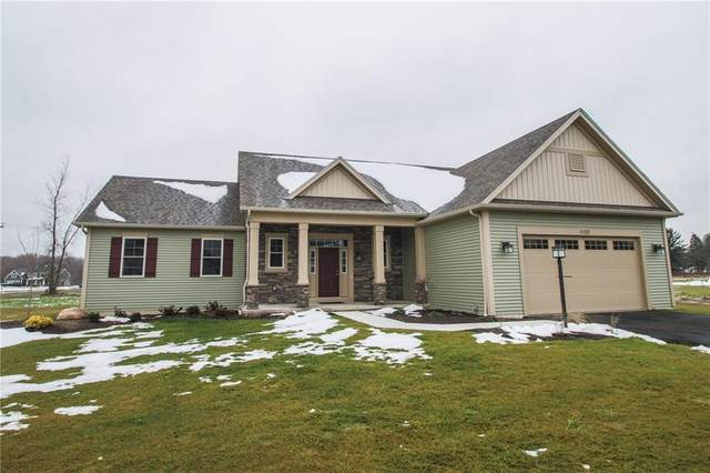 1120 Shallow Brook Terrace, Webster, NY 14580 (MLS #R1250281) :: The CJ Lore Team | RE/MAX Hometown Choice