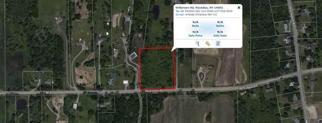 0 Wilkinson Road, Macedon, NY 14502 (MLS #R1252089) :: BridgeView Real Estate Services