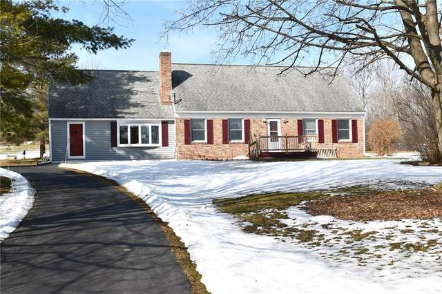 2128 Pond Road, East Bloomfield, NY 14469 (MLS #R1253359) :: BridgeView Real Estate Services