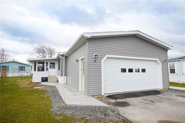 5555 Purdy Rd, Lot 41, Canandaigua-Town, NY 14424 (MLS #R1258343) :: Updegraff Group