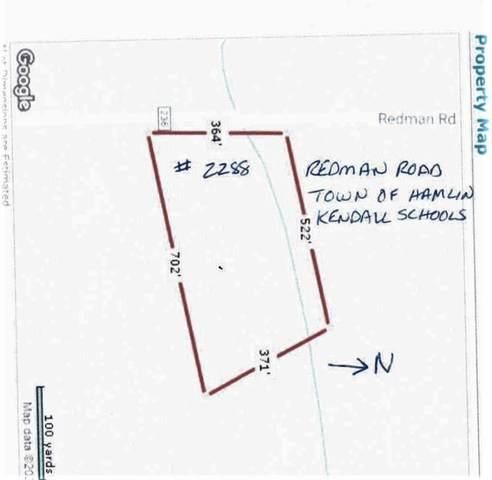 2288 Redman Road, Hamlin, NY 14420 (MLS #R1258735) :: Robert PiazzaPalotto Sold Team
