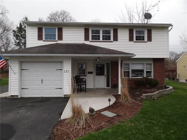 151 Norcrest Drive, Irondequoit, NY 14617 (MLS #R1259445) :: Robert PiazzaPalotto Sold Team