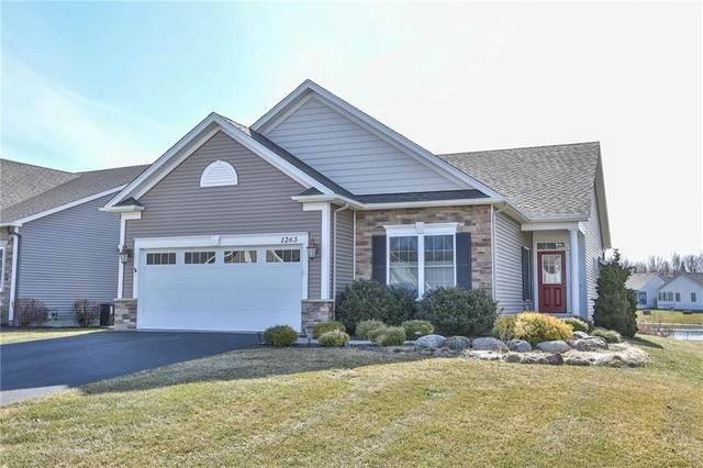 1263 Clear Pond Ln, Webster, NY 14580 (MLS #R1267870) :: Lore Real Estate Services