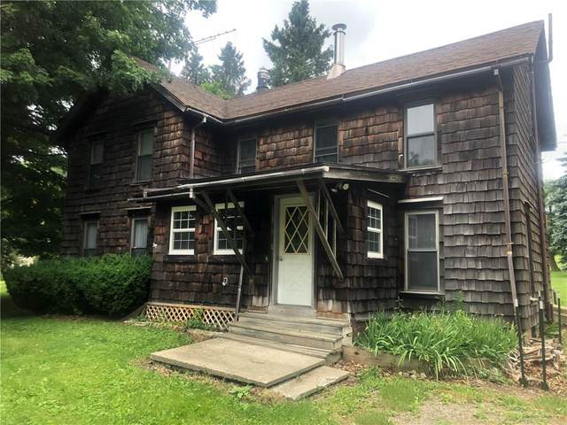 6743 Wrights Road, Springwater, NY 14560 (MLS #R1274975) :: Robert PiazzaPalotto Sold Team