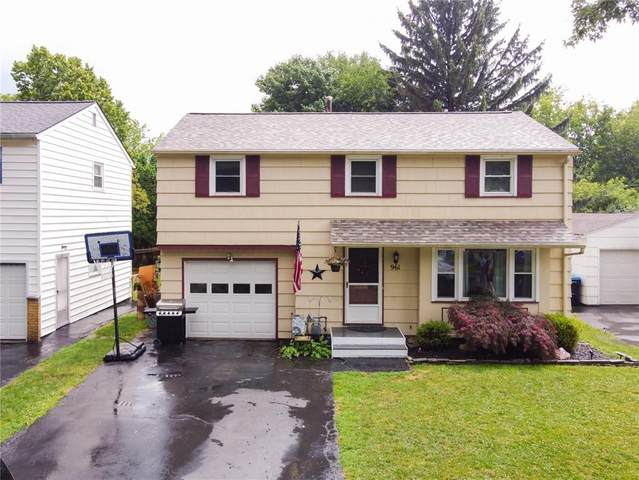 961 Whitlock Road, Irondequoit, NY 14609 (MLS #R1279240) :: Robert PiazzaPalotto Sold Team