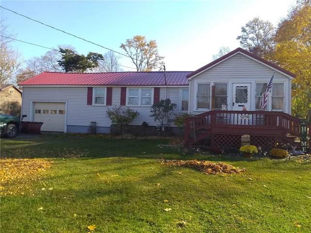 12196 Ridge Road, Ridgeway, NY 14103 (MLS #R1306787) :: BridgeView Real Estate Services