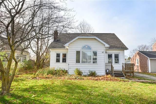 87 Ridgewood Drive, Irondequoit, NY 14622 (MLS #R1308251) :: BridgeView Real Estate Services