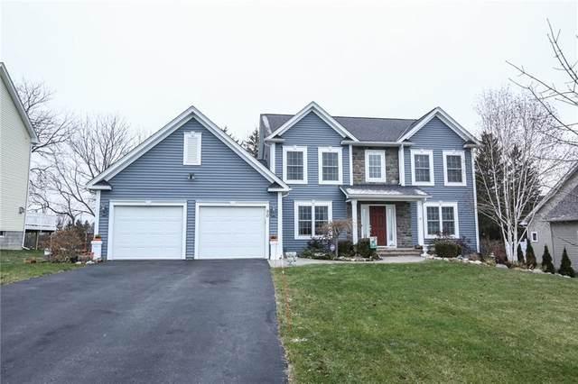 90 Long Branch Drive, Henrietta, NY 14467 (MLS #R1314616) :: Robert PiazzaPalotto Sold Team