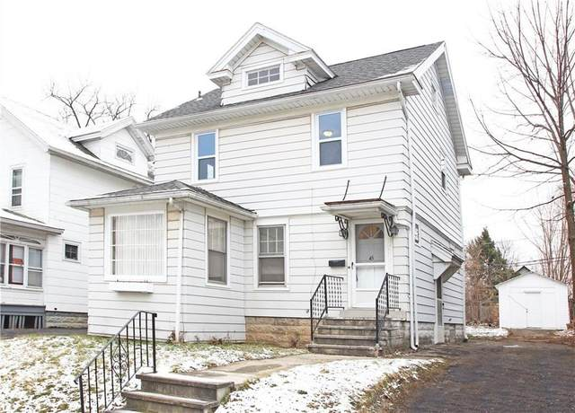 45 Sheldon Terrace, Rochester, NY 14619 (MLS #R1315297) :: Robert PiazzaPalotto Sold Team