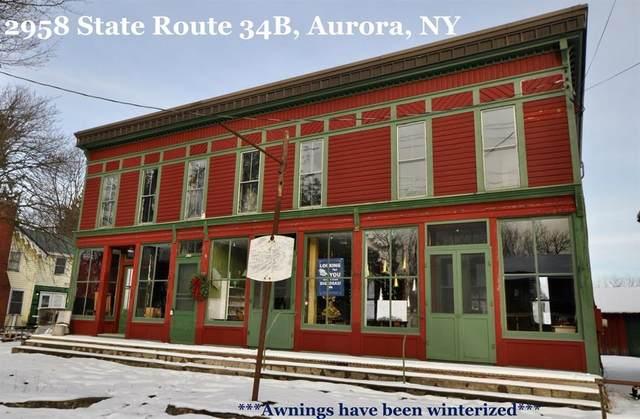 2958 State Route 34B, Scipio, NY 13026 (MLS #R1316602) :: Avant Realty