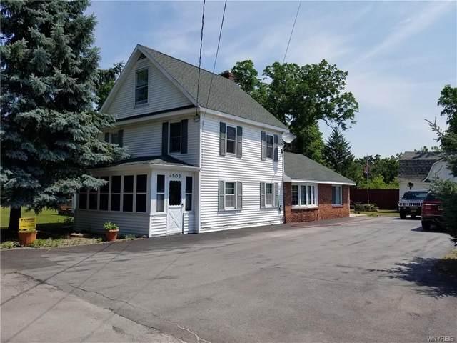 4503 Mill Street, Shelby, NY 14103 (MLS #R1321262) :: Thousand Islands Realty