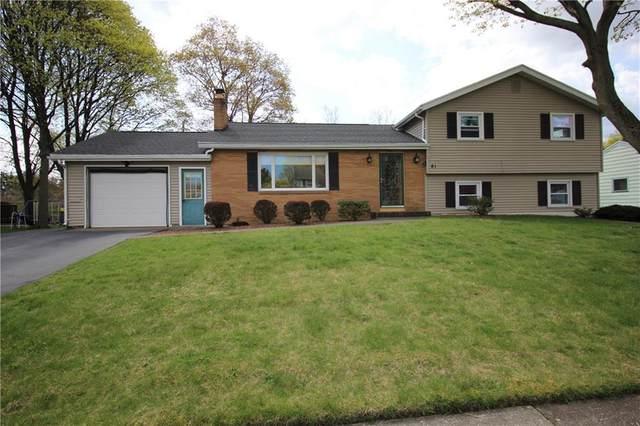 81 Minocqua Drive, Irondequoit, NY 14617 (MLS #R1330889) :: BridgeView Real Estate Services