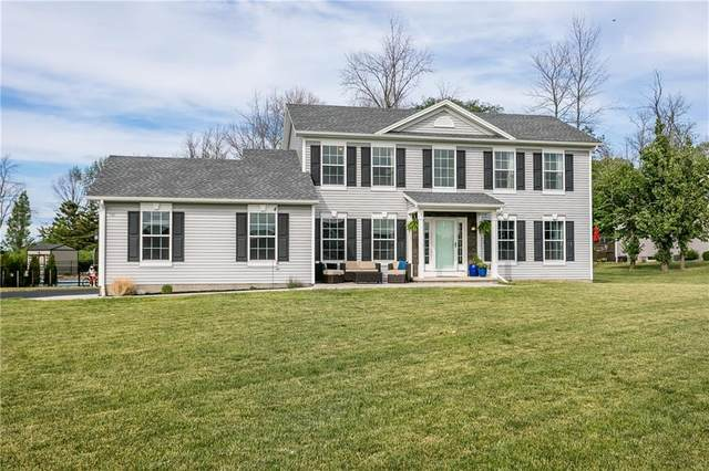 4 Blue Mountain Drive, Parma, NY 14468 (MLS #R1342846) :: Robert PiazzaPalotto Sold Team
