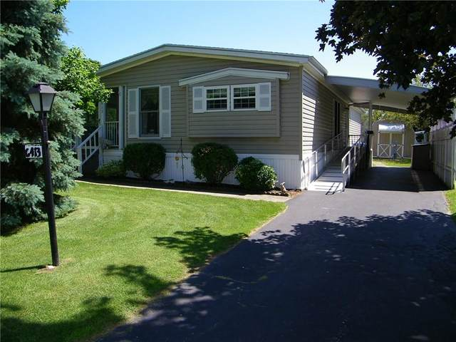 6413 Francis Drive, Victor, NY 14564 (MLS #R1343360) :: Thousand Islands Realty