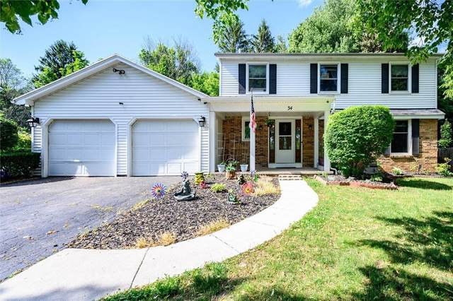 34 Rolling Hill Drive, Perinton, NY 14450 (MLS #R1344132) :: Robert PiazzaPalotto Sold Team