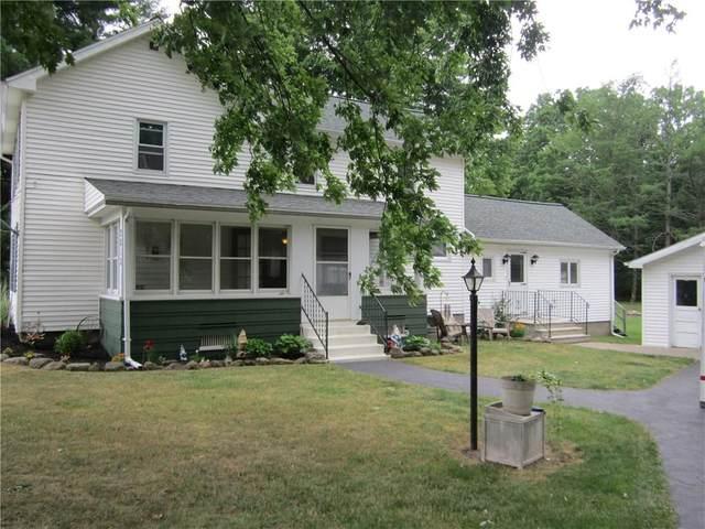 2813 E Shelby Road, Oakfield, NY 14125 (MLS #R1348823) :: Robert PiazzaPalotto Sold Team