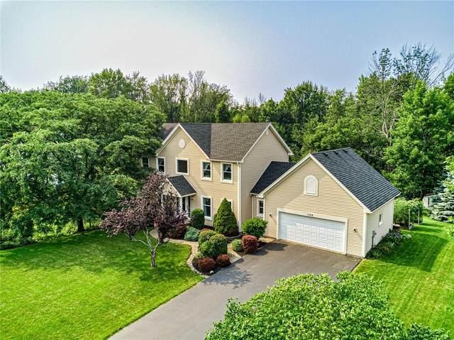 1488 Fallen Leaf Terrace, Webster, NY 14580 (MLS #R1353572) :: Robert PiazzaPalotto Sold Team