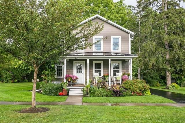 249 N Pleasant Street, Canandaigua-City, NY 14424 (MLS #R1368126) :: Thousand Islands Realty