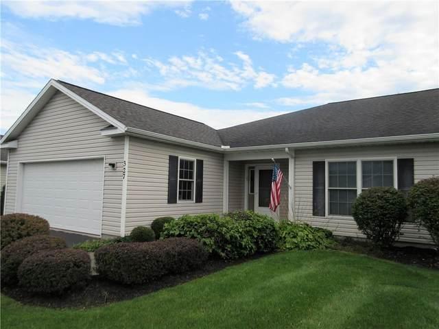 327 Walker Drive, Canandaigua-City, NY 14424 (MLS #R1368137) :: Serota Real Estate LLC