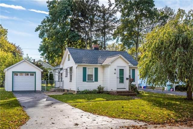 63 Hager Road, Greece, NY 14616 (MLS #R1374977) :: Serota Real Estate LLC