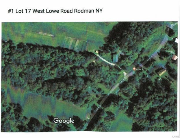 #1 Block Lot #17 W Lowe Road, Rodman, NY 13682 (MLS #S1163314) :: Thousand Islands Realty