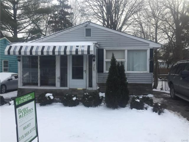 209 Belle Avenue, Syracuse, NY 13205 (MLS #S1168196) :: Thousand Islands Realty