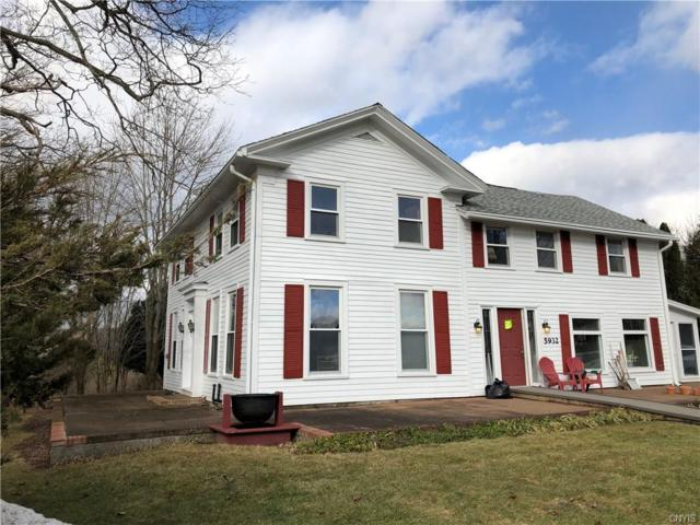 5932 Hill Road, Madison, NY 13402 (MLS #S1172248) :: Robert PiazzaPalotto Sold Team