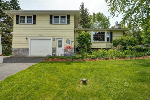 412 Blueberry Lane, Geddes, NY 13219 (MLS #S1195460) :: The Glenn Advantage Team at Howard Hanna Real Estate Services