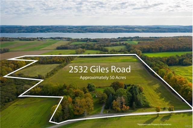 2532 Giles Road, Skaneateles, NY 13152 (MLS #S1233083) :: MyTown Realty