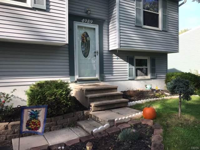 4989 Woodmark Drive, Clay, NY 13088 (MLS #S1233388) :: The Rich McCarron Team