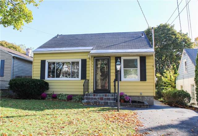 467 Plymouth Drive, Syracuse, NY 13206 (MLS #S1233551) :: Robert PiazzaPalotto Sold Team