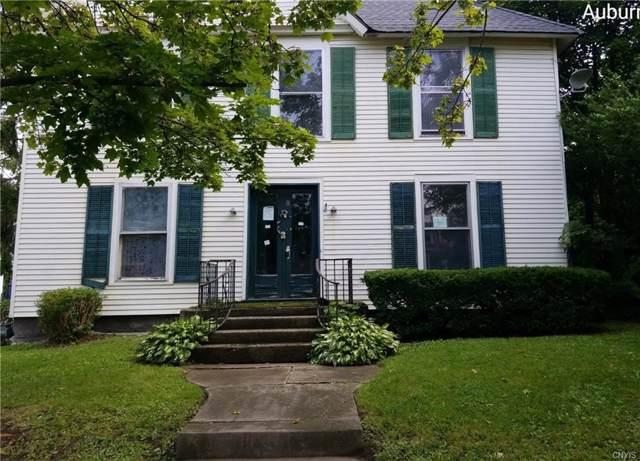 8 Washington Street, Auburn, NY 13021 (MLS #S1234124) :: Robert PiazzaPalotto Sold Team